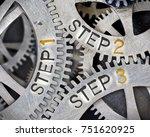 macro photo of tooth wheel... | Shutterstock . vector #751620925