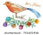 Christmas Decoration  Bird...