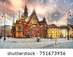 the center of the beautiful old ...   Shutterstock . vector #751673956