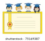 Illustration Of Graduates....