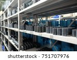 pvc pipe store | Shutterstock . vector #751707976