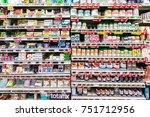 wellington  new zealand   march ...   Shutterstock . vector #751712956