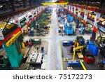 industry factory iron works... | Shutterstock . vector #75172273