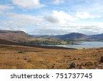 ardarroch scotland mountain view   Shutterstock . vector #751737745