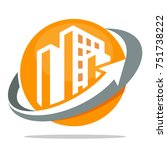 icon logo for business... | Shutterstock .eps vector #751738222