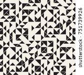 vector seamless pattern. modern ... | Shutterstock .eps vector #751739926