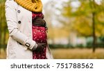 close up of pregnant woman... | Shutterstock . vector #751788562