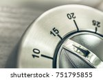 15 minutes   quarter hour  ... | Shutterstock . vector #751795855