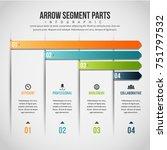 vector illustration of arrow... | Shutterstock .eps vector #751797532