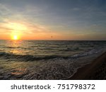 November Sunset Over The Gulf...