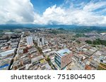 cityscape view of manizales ...   Shutterstock . vector #751804405