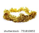 golden  yellow tinsel ...