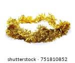 golden  yellow tinsel ...