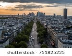paris   france  april 16  2017. ... | Shutterstock . vector #751825225