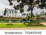 thabor park  le parc du thabor  ... | Shutterstock . vector #751833145