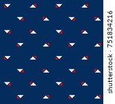 abstract minimal pattern... | Shutterstock .eps vector #751834216