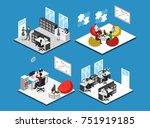 isometric 3d illustration...   Shutterstock . vector #751919185