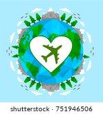 love travel concept...   Shutterstock .eps vector #751946506
