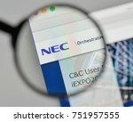 milan  italy   november 1  2017 ...   Shutterstock . vector #751957555