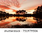 Long Pine Key Lake At Sunset ...