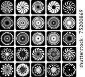 decorative design elements.... | Shutterstock .eps vector #75200869