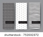 branding packaging pattern... | Shutterstock .eps vector #752032372