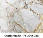 white marble texture with... | Shutterstock . vector #752045938