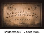 Talking Board And Planchette...
