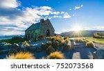 church of the good shepherd at... | Shutterstock . vector #752073568