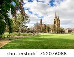 st. peter's cathedral located... | Shutterstock . vector #752076088