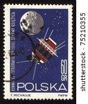 poland   circa 1966  a stamp...   Shutterstock . vector #75210355