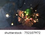 decorations  lights and... | Shutterstock . vector #752107972
