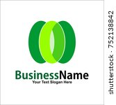 business logo vector design... | Shutterstock .eps vector #752138842