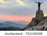 fighting spirit   way of success   Shutterstock . vector #752150338