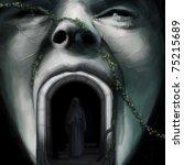 Human Face Sculpture  Person I...