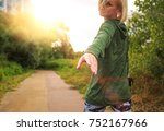 help concept hands reaching out ... | Shutterstock . vector #752167966