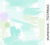 splash brush strokes seamless... | Shutterstock .eps vector #752198662