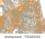 abstract background. spotted... | Shutterstock . vector #752201542