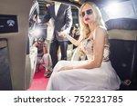 attending the red carpet event... | Shutterstock . vector #752231785