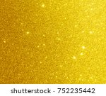 gold foil background or texture ... | Shutterstock . vector #752235442
