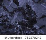 dark ice texture | Shutterstock . vector #752270242