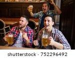 sport  people  leisure ... | Shutterstock . vector #752296492