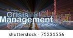background concept wordcloud...   Shutterstock . vector #75231556