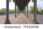 photo from iconic bridge of bir ...   Shutterstock . vector #752324458