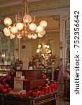 Small photo of Vienna - September 20, 2016. Demel is a famous pastry shop and chocolaterie established in 1786 in Vienna, Austria. The company bears the title of a Purveyor to the Imperial and Royal Court