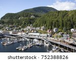 the view of tongass avenue and... | Shutterstock . vector #752388826
