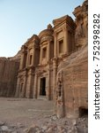 petra   jordan | Shutterstock . vector #752398282