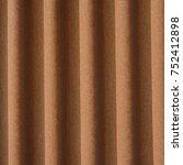 orange brown exterior... | Shutterstock . vector #752412898