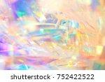 rich vibrant polished elegant... | Shutterstock . vector #752422522