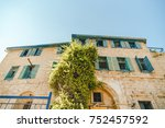 ages historical building in... | Shutterstock . vector #752457592